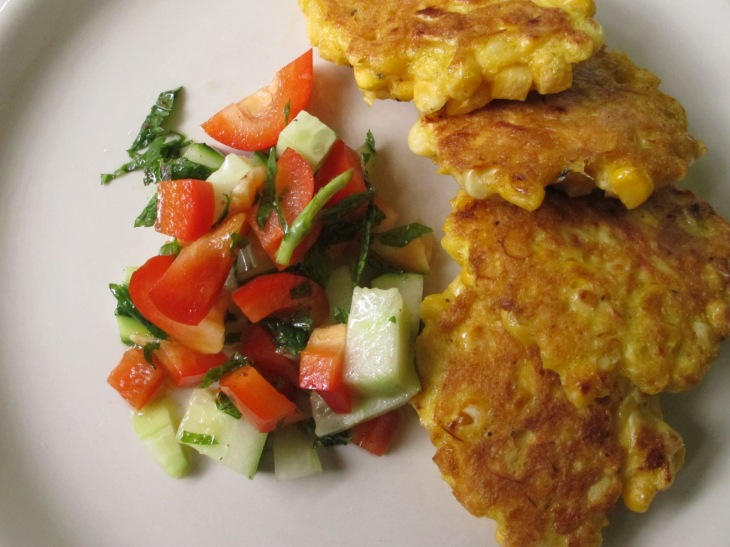 Corn fritters 015