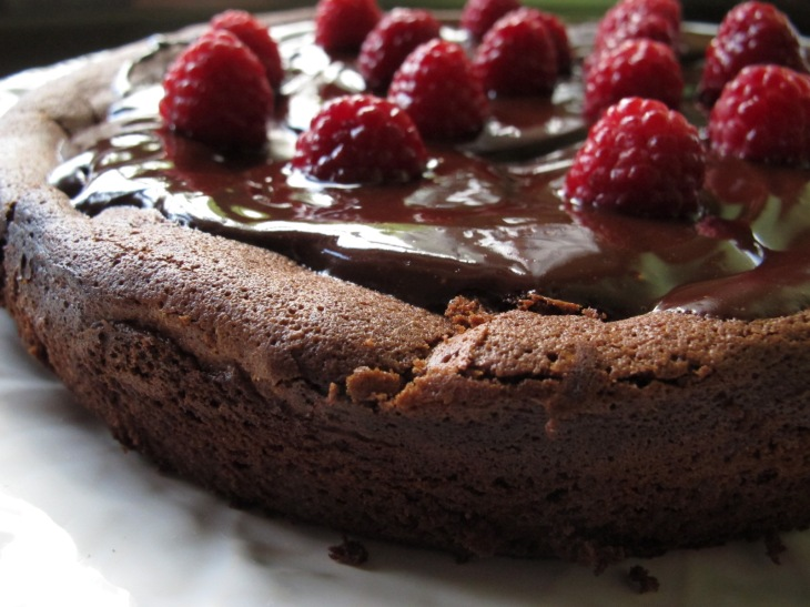 raspberry drenched chocolate cake 032