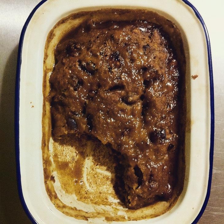 sticky date and walnut pudding
