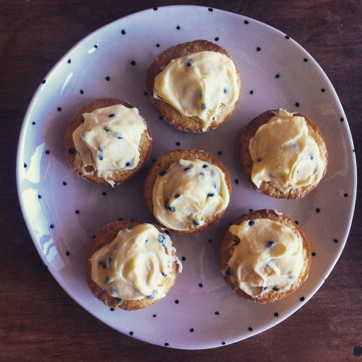 passionfruit cakes